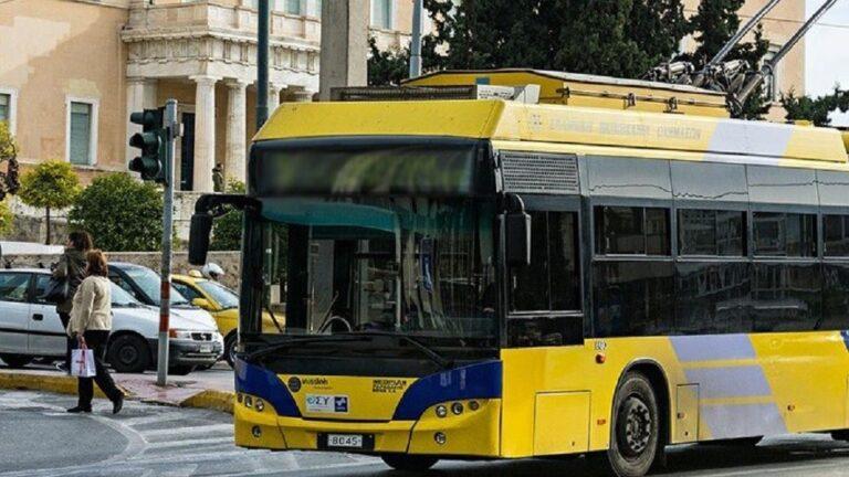 Πως θα κινηθούν λεωφορεία και τρόλεϊ λόγω εορτής του Πάσχα