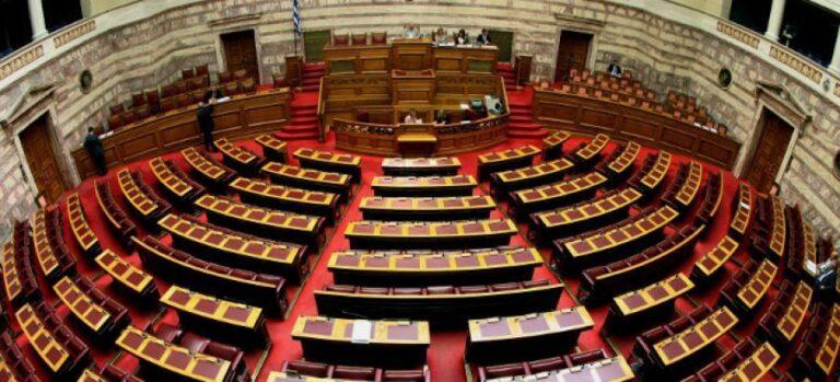 Η συνεδρίαση της βουλής για το φορολογικό νομοσχέδιο