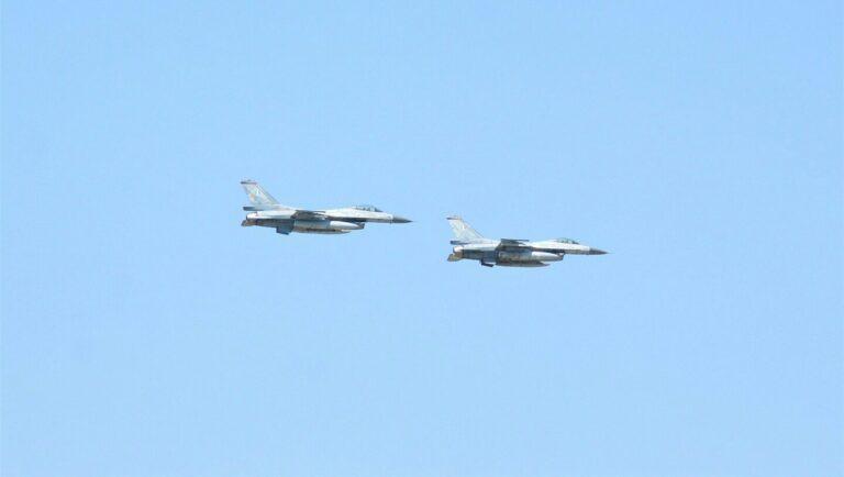 To ΝΑΤΟ αναγκάζει την Ελλάδα να στείλει F-16 πάνω από τα Σκόπια